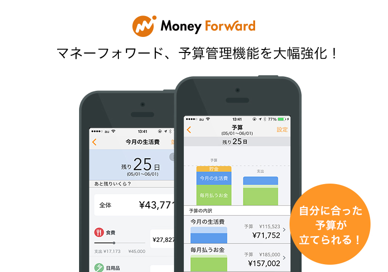 家計簿moneyforward
